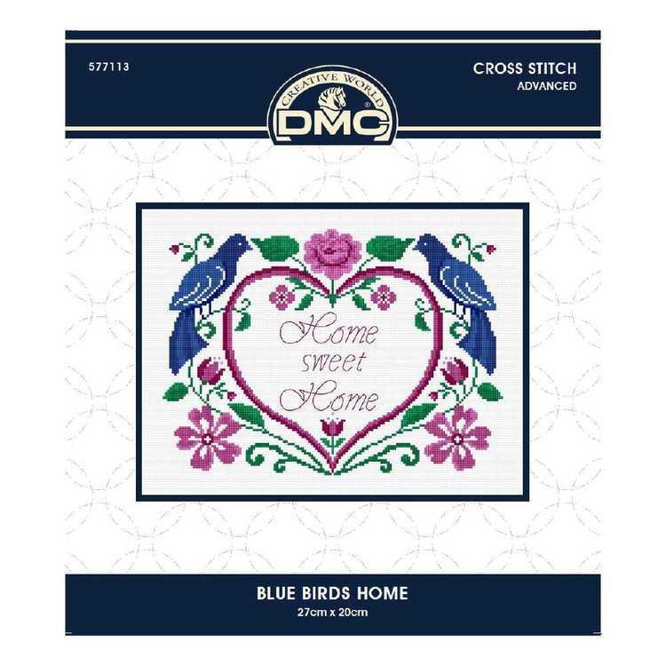 DMC By Leutenegge Blue Bird Home Cross Stitch Kit