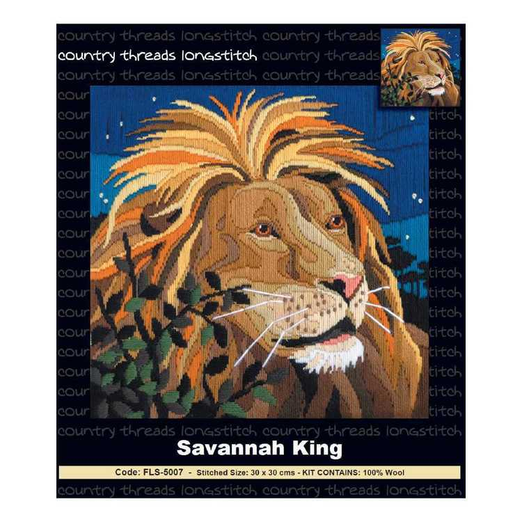 Country Thtreads Savannah King Longstitch Kit