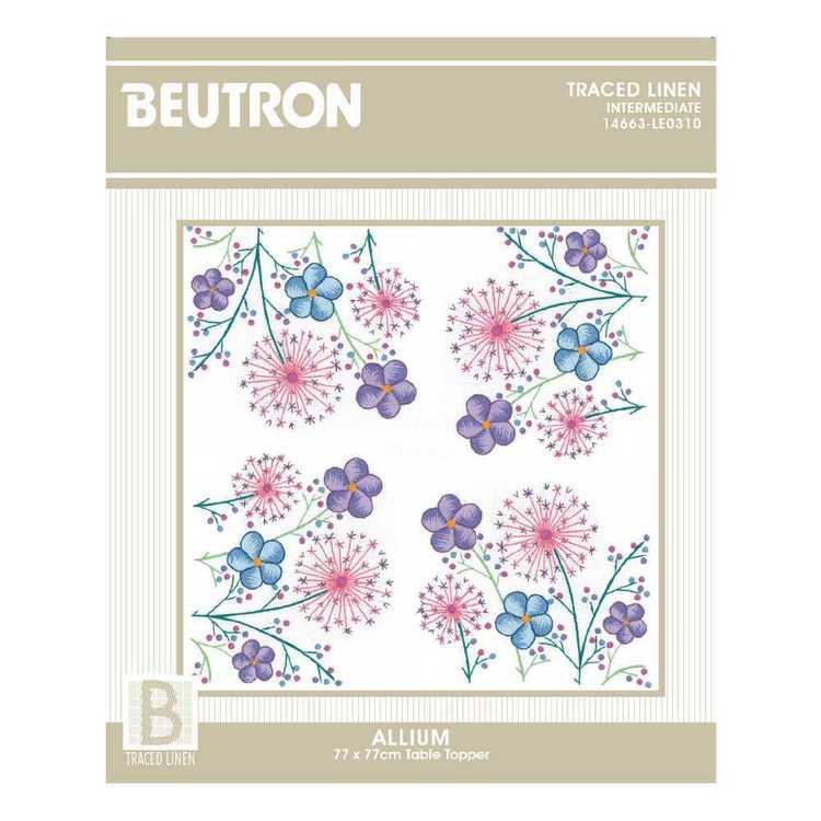 Beutron Allium Topper Embroidery Kit