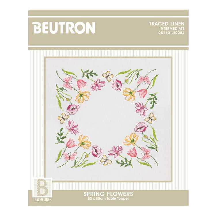 Beutron Spring Flowers Topper Cross Stitch Kit