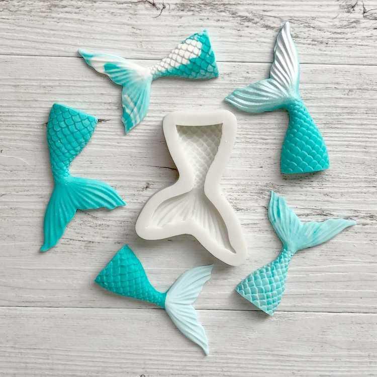 Mondo Premium Silicone Mould Mermaid Tail