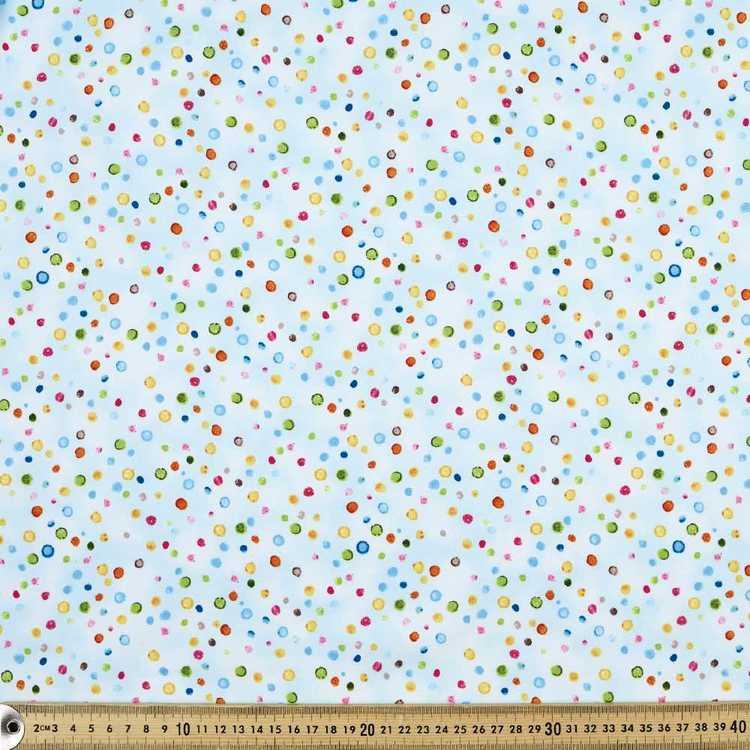 Ocean State Multi Dot Cotton Fabric