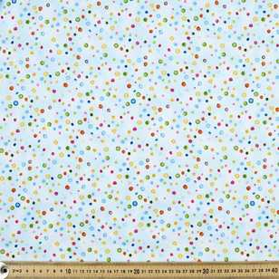 Ocean State Multi Dot Cotton Fabric