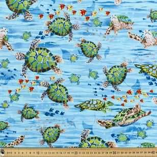 Ocean State Little Sea Turtle Fabric