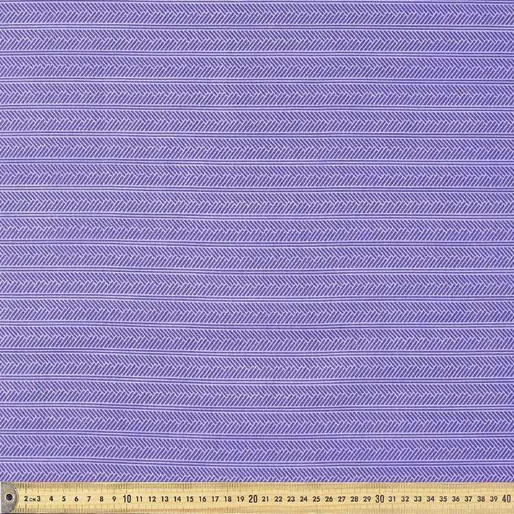 Lattice Printed Blender Fabric