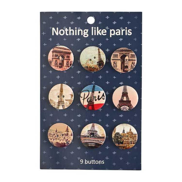 Paris Buttons
