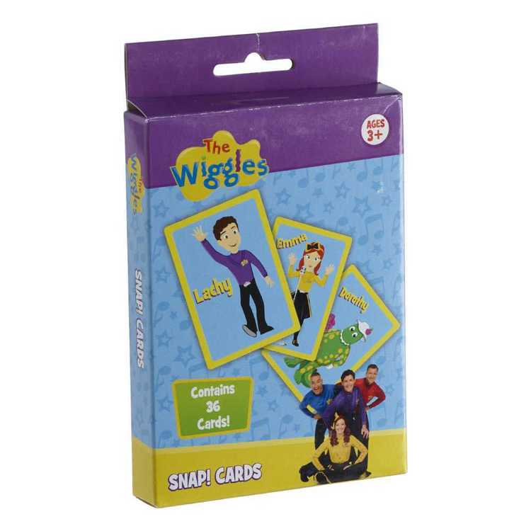 The Wiggles Snap Card Game