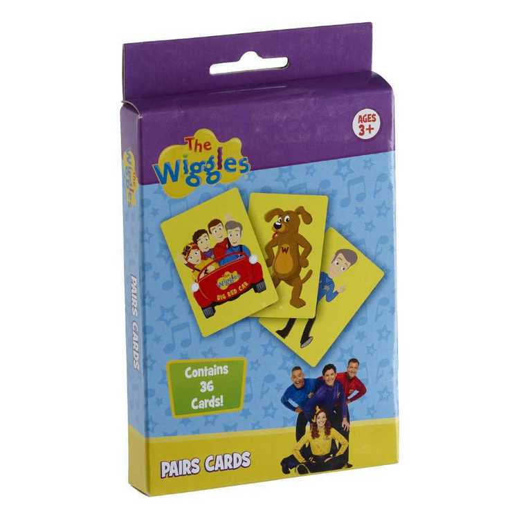 The Wiggles Pairs Card Game Multicoloured