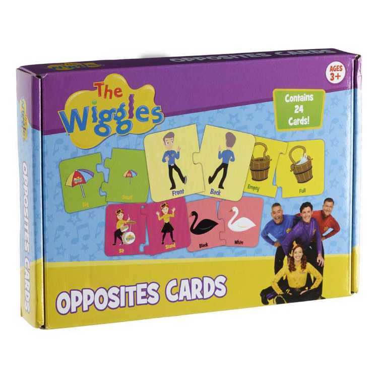The Wiggles Opposite Card Game Multicoloured
