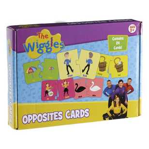 The Wiggles Opposite Card Game