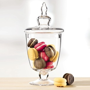 Cooper & Co Candy Jar With Lid - Curved