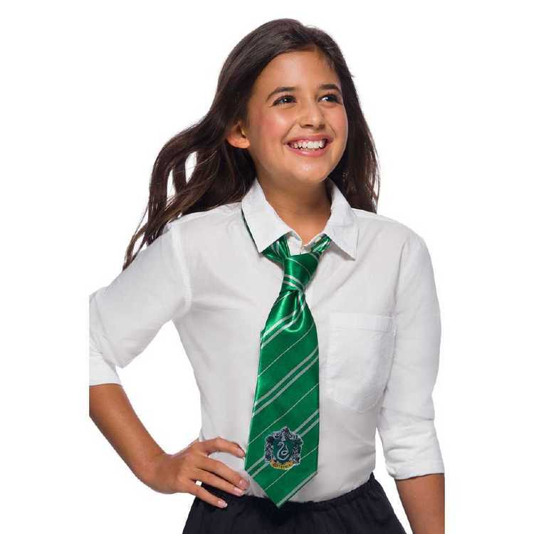 Harry Potter Slytherin Tie