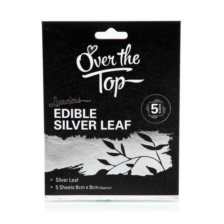 Over The Top Edible Leaf 5 Sheets