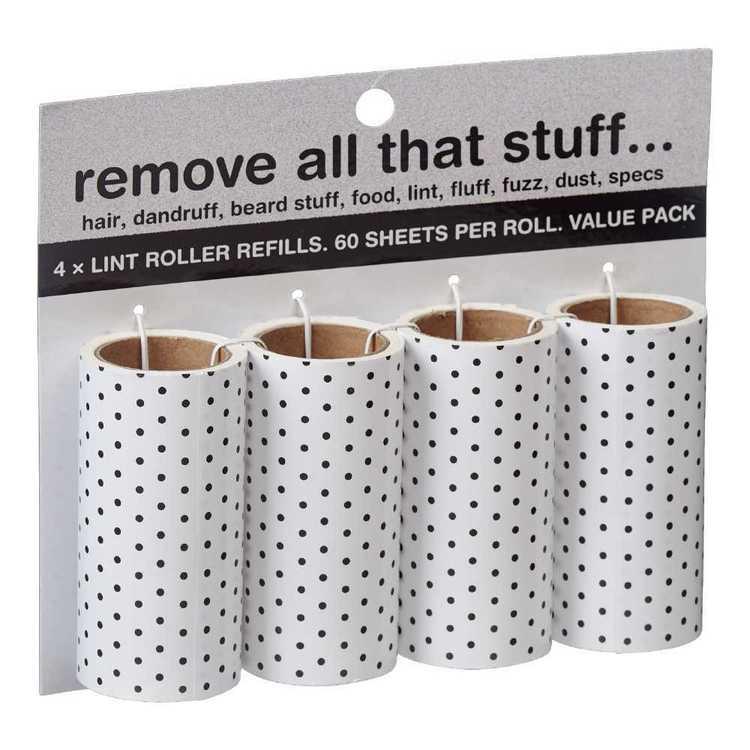 Semco Lint Roller Refills 4 Pack