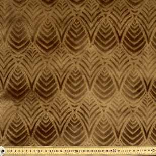 Shell Burnout Velvet Upholstery Fabric