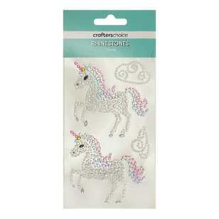 Crafters Choice Rhinestone Unicorn Stickers