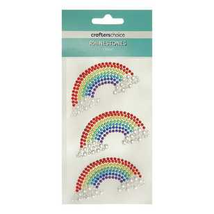 Crafters Choice Rhinestone Rainbow Stickers