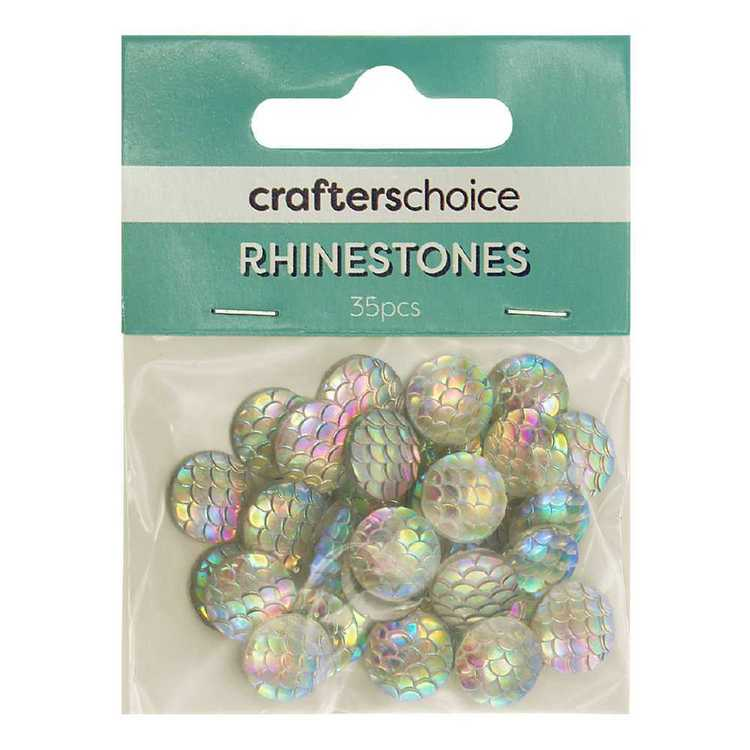 Crafters Choice Round Rhinestone Scales Pack