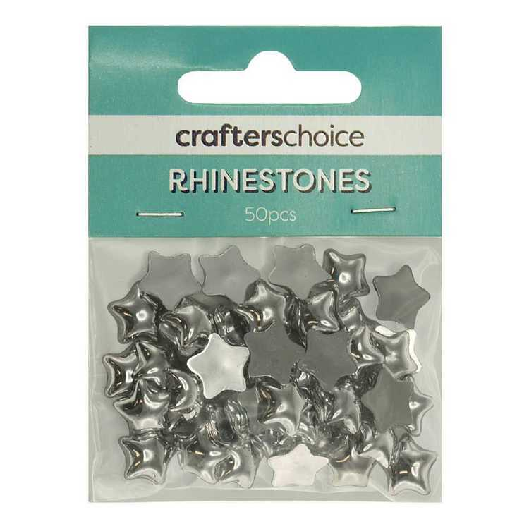 Crafters Choice 12 mm Star Rhinestone Gems Pack