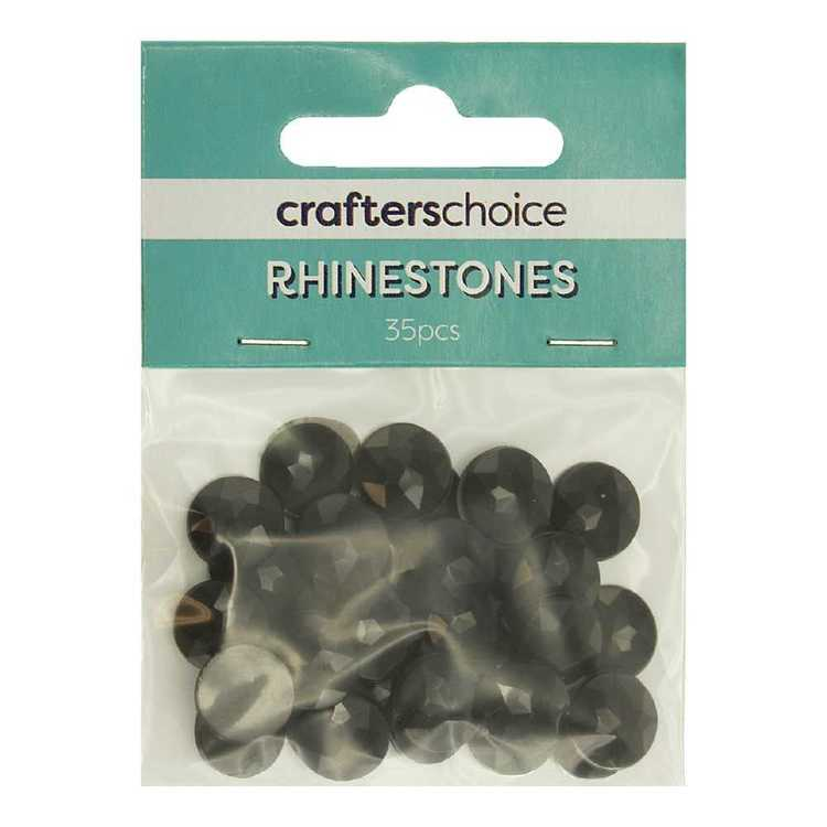 Crafters Choice Faceted Round Rhinestone Gems Pack