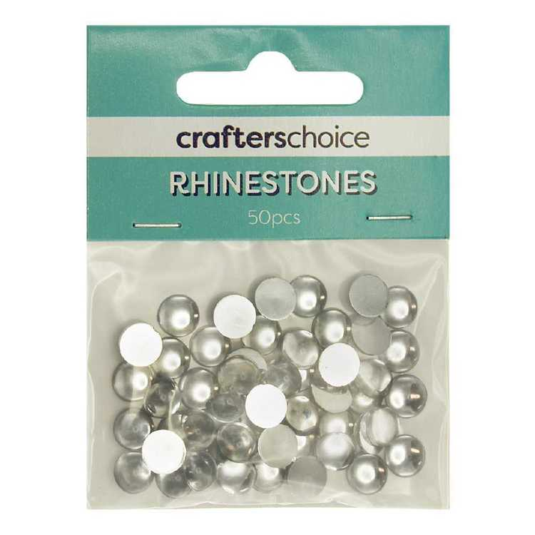 Crafters Choice Round Dome Rhinestone Gems Pack
