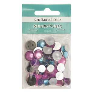Crafters Choice Round Dome Rhinestone Gems