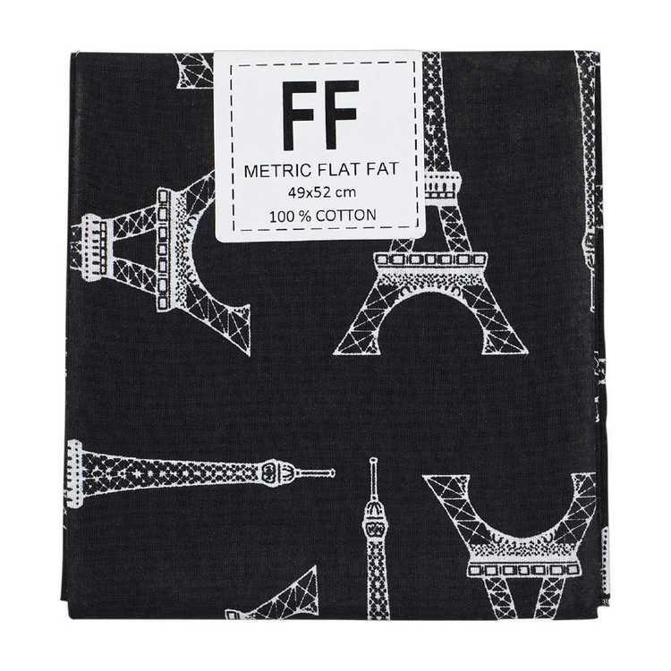 Mix Monotone Eiffel Tower Blender Flat Fat