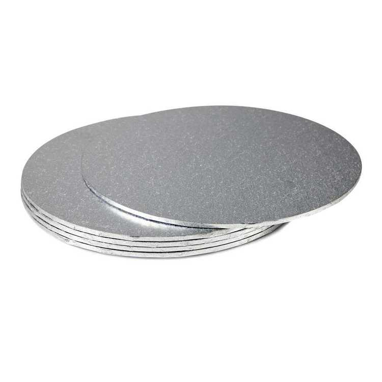 Mondo Round Foil Cake Board
