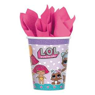 Amscan 'LOL Surprise' Cups 8 Pack