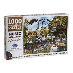 Hinkler Puntastic Movies 1000 Piece Jigsaw Puzzle