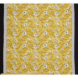 Edith Printed 148 cm Retro CDC Fabric