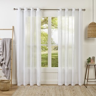 LUCAS Sheer Eyelet Curtain