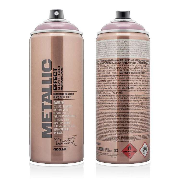 Montana Cans Metallic Effect Spray Paint