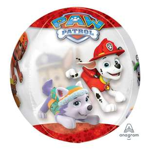 Amscan Paw Patrol Chase & Marshall Clear Balloon
