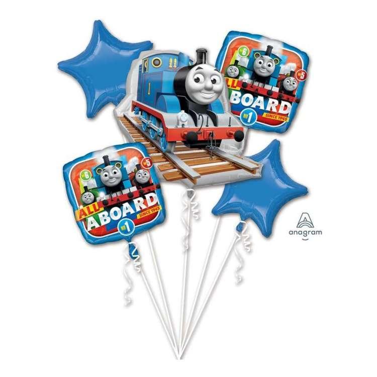 Amscan All Aboard Thomas Balloon Bouquet