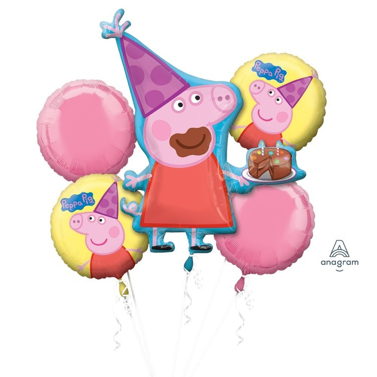 Amscan Peppa Pig Balloon Bouquet
