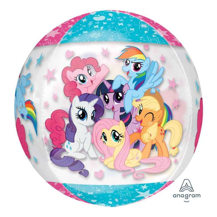 Amscan My Little Pony Clear Orbz Balloon