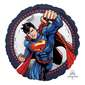 Amscan Superman Standard Balloons Multicoloured