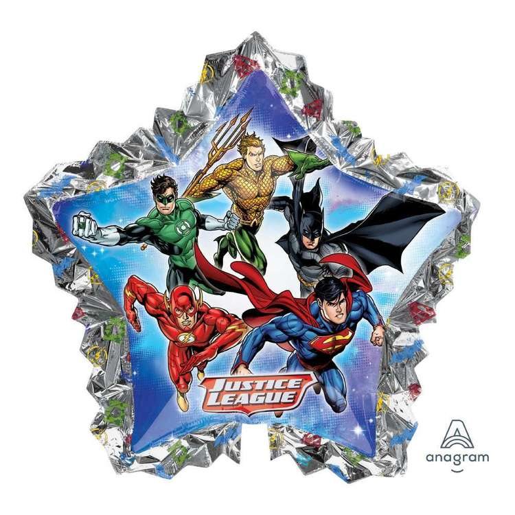 Amscan Justice League Giant Star Balloon