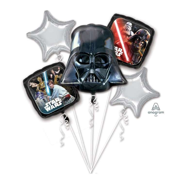 Amscan Star Wars Classic Balloon Bouquet Multicoloured