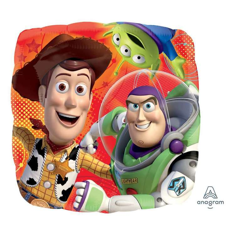 Toy Story Gang Balloon Multicoloured