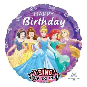 Amscan Disney Princess Sing-A-Tune Balloon