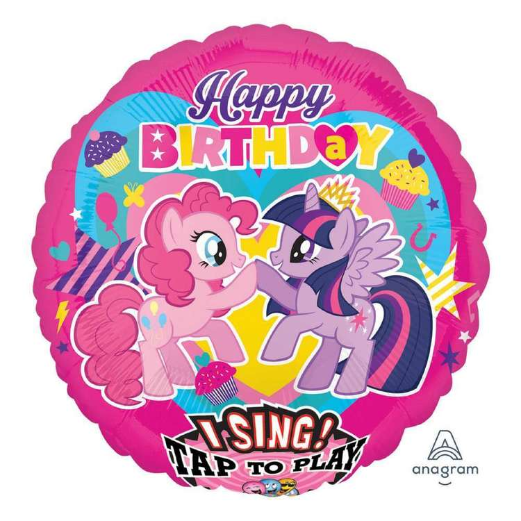 Amscan My Little Pony Sing-A-Tune Balloon