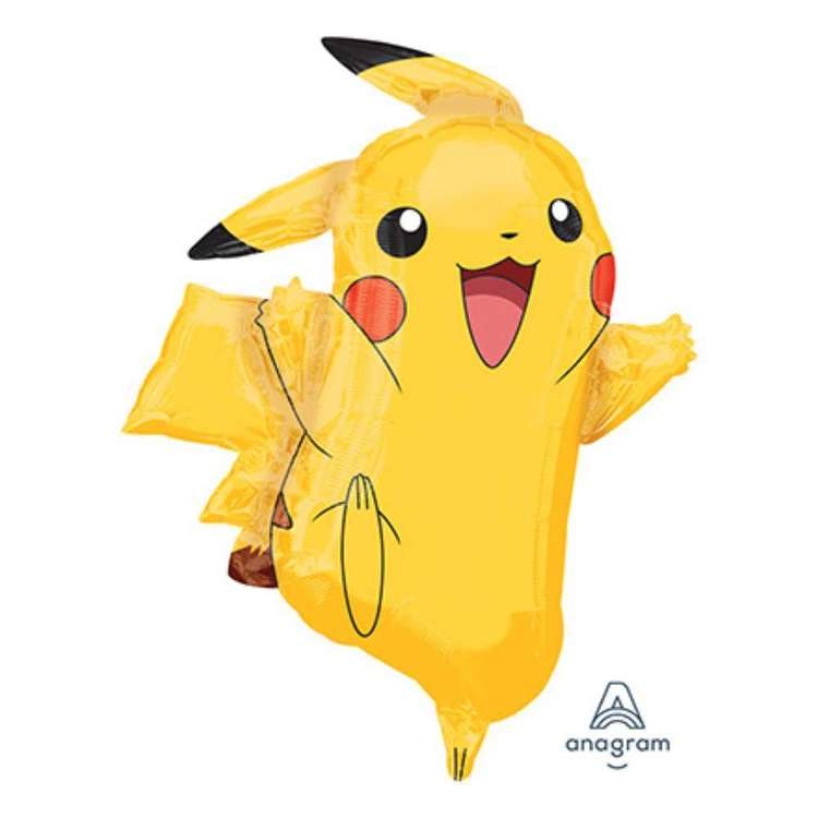 Amscan Pikachu Supershape Foil Balloon