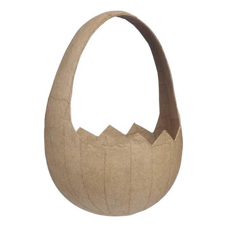 Daisy Chain Papier Mache Egg Basket