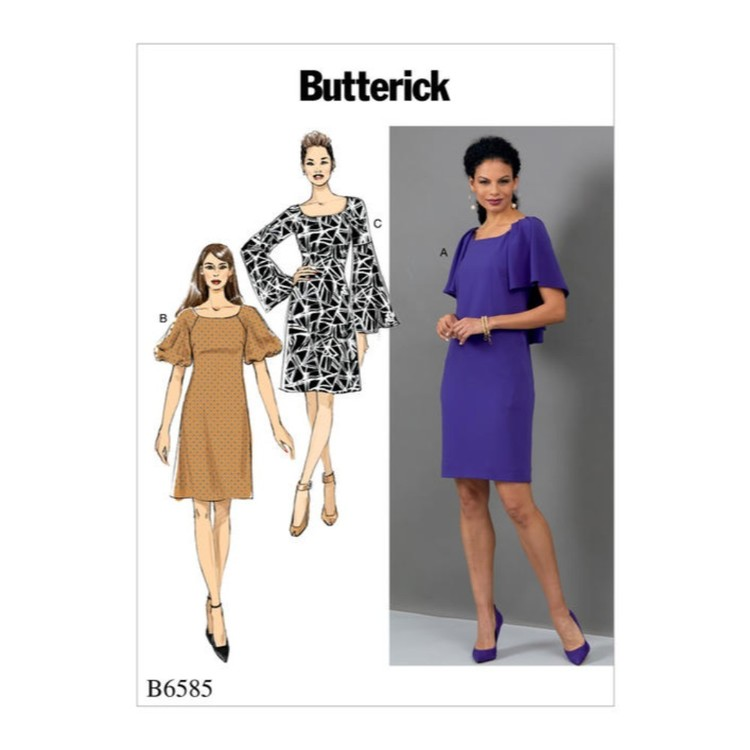 Butterick Pattern B6585 Misses' Dress