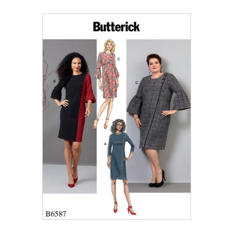 Butterick Pattern B6587 Misses' & Women's Dress