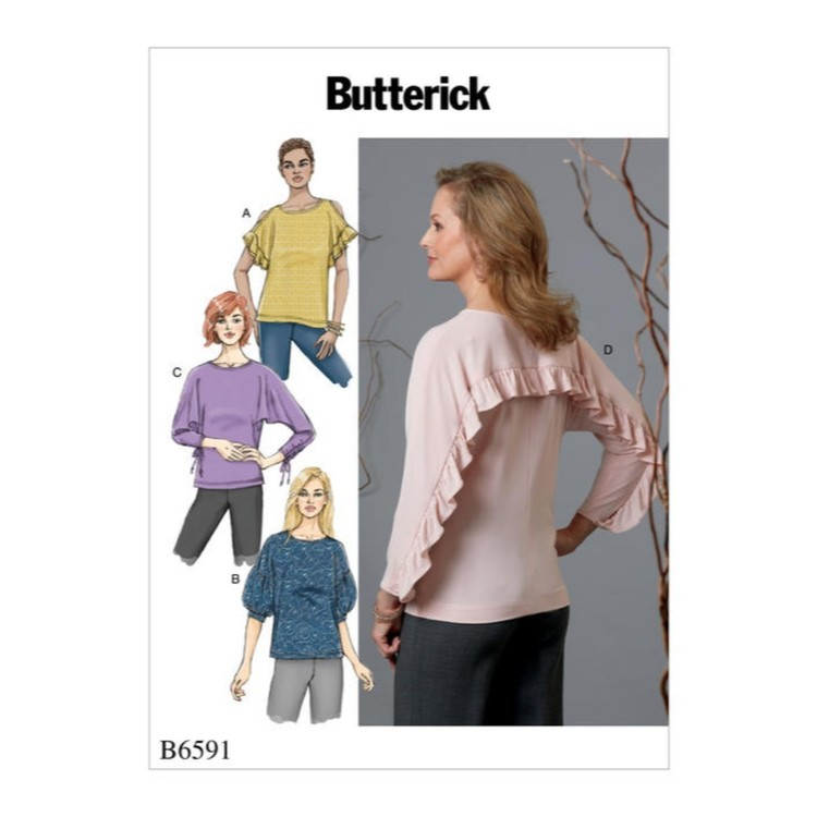 Butterick Pattern B6591 Misses' Top