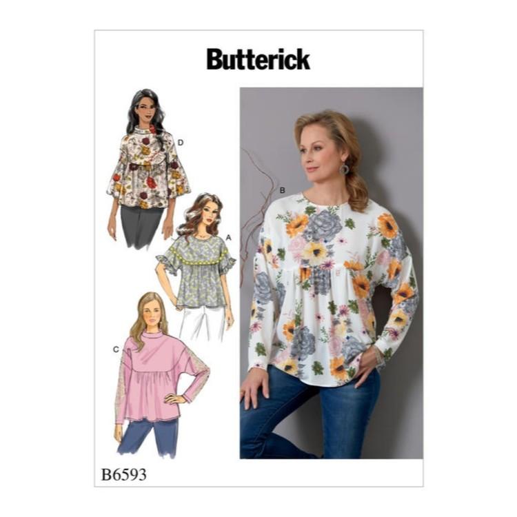 Butterick Pattern B6593 Misses' Top