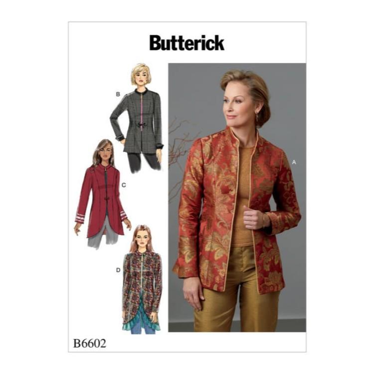 Butterick Pattern B6602 Misses' & Misses' Petite Jacket